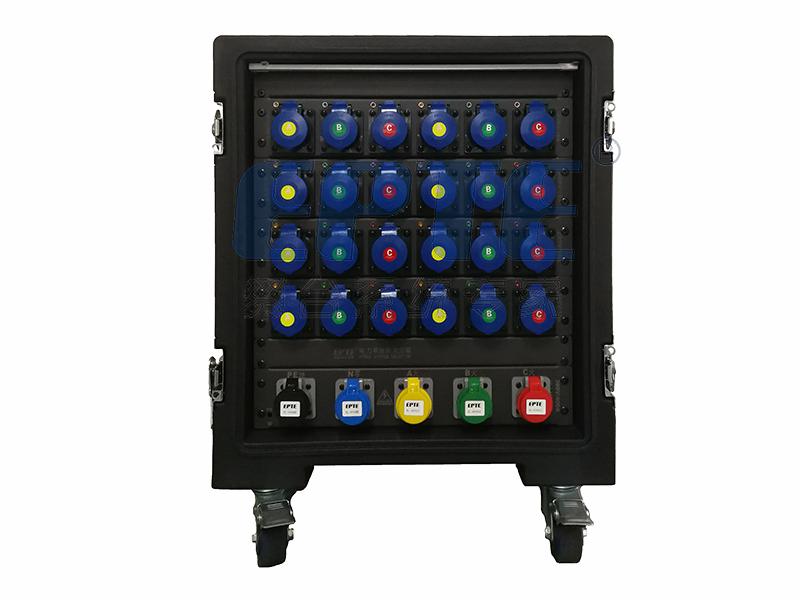 24路流动式电源直通箱-A款
