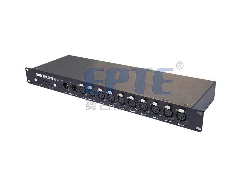 HL-8.3II DMX512三芯信号放大器(1进8出)