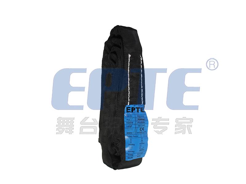黑色圆管吊带(2T*1M)