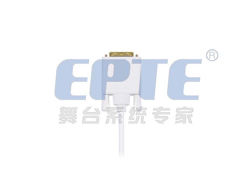 DVI- DVI (18+1 针) 单通道 视频信号线 (含接头)